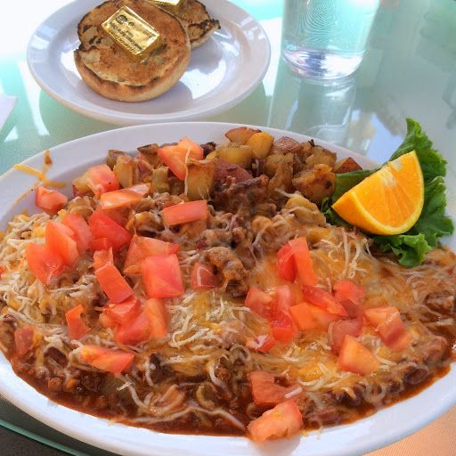 chili cheese omelet at pj amp co in reno certainly filling spicy chili ...
