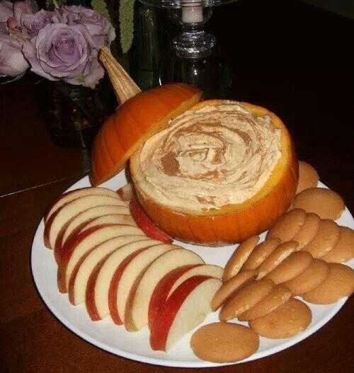 Pumpkin dip | LOVEfortheHOLIdays | Pinterest
