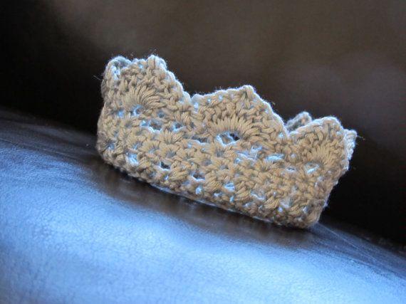 Crochet Pattern Baby Crown Dancox For