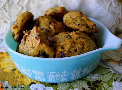 Pumpkin Chocolate Chunk cookies | things to do | Pinterest