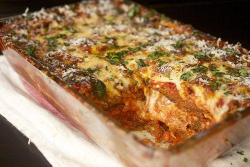 food lab - eggplant lasagne