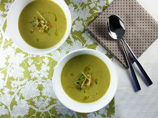 ... ginger soup so maybe i'll switch to this Zucchini and ginger soup