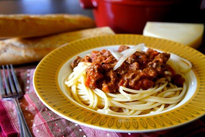 Crock Pot Bolognese Sauce | Food | Pinterest