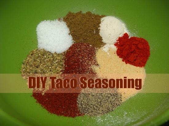 Homemade Mild Taco Seasoning | Favorite Recipes | Pinterest