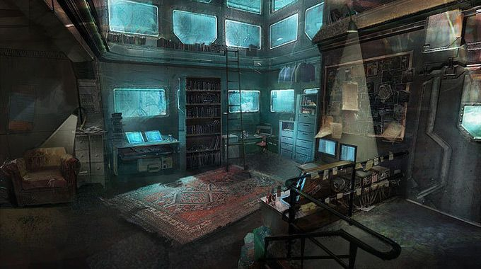 stacey diana clark concept art creative interior great perspective