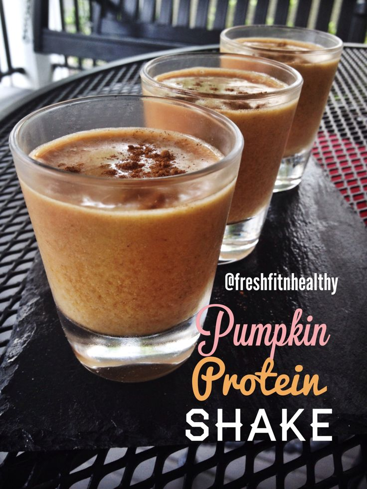 Pumpkin protein shake | Protein (ViShakes) Shakes | Pinterest