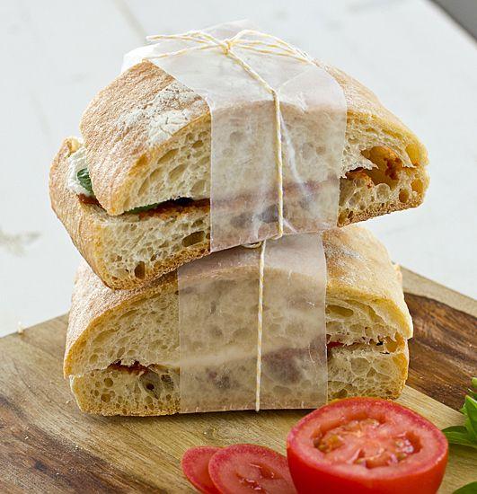 Panera Bread's Tomato & Mozzarella Panini. #panerabread #panini # ...