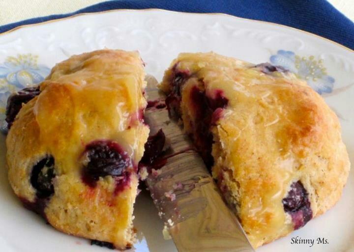 Blueberry lemon scones | Healthy Food! | Pinterest