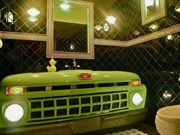 Ford Man Cave Decor : Man cave bathroom i could live with that pinterest