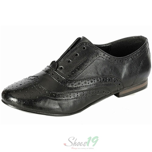 Sharon-05 Black Color Flat Sneaker Breckelle'S Shoes
