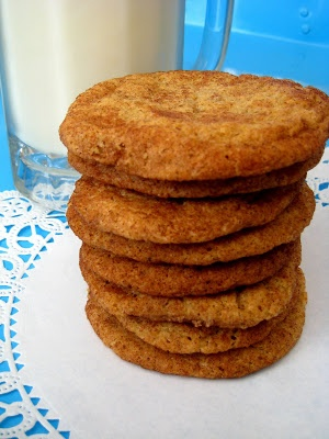 Whole Wheat Snickerdoodles | Cookies (to try) | Pinterest