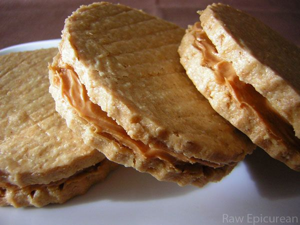 Peanut Butter Sandwich Cookies   Smart Cookies   Pinterest