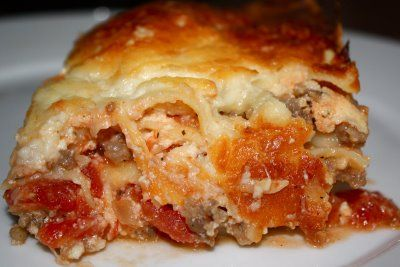Italian Sausage Lasagna | Mangiamo! | Pinterest