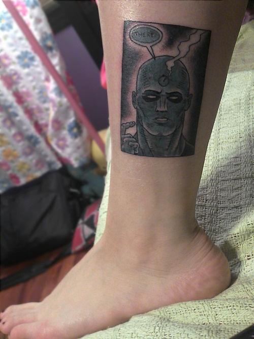 Dr Manhattan Tattoos Pinterest