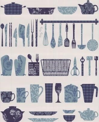 washable kitchen wallpaper future home pinterest