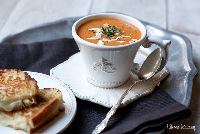 Roasted Tomato Soup Recipe .... | Soups | Pinterest