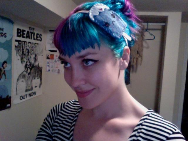 shaped bangs with blue hair   LGN-Uñas-Pelo-Makeup   Pinterest