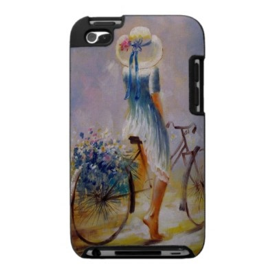 Vintage Bicycle iPod Touch Speck Case