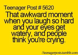 haha this happens to me all the time lol