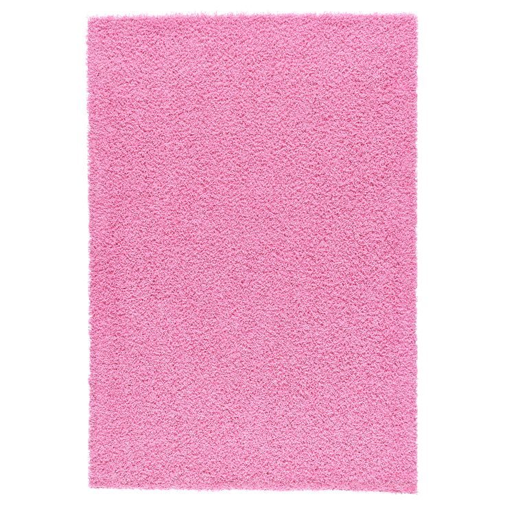 Ikea hampen rug pink rugs ideas for Ikea pink rug