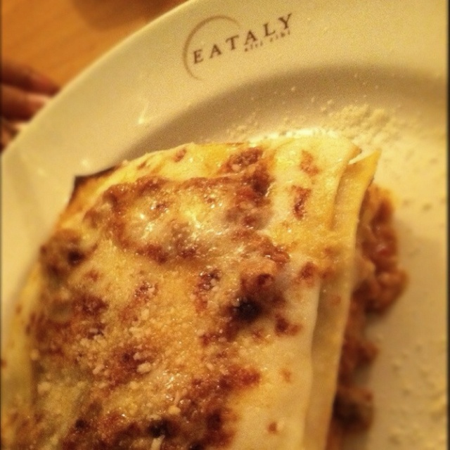 Best lasagna EVER! (Eataly in NYC) | Where I wanna be... | Pinterest