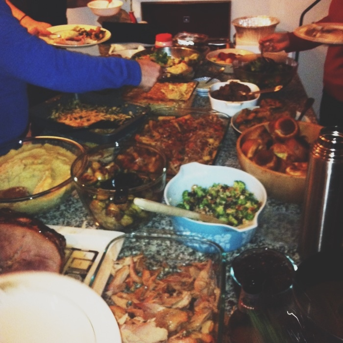 Thanksgiving potluck | Our People | Pinterest