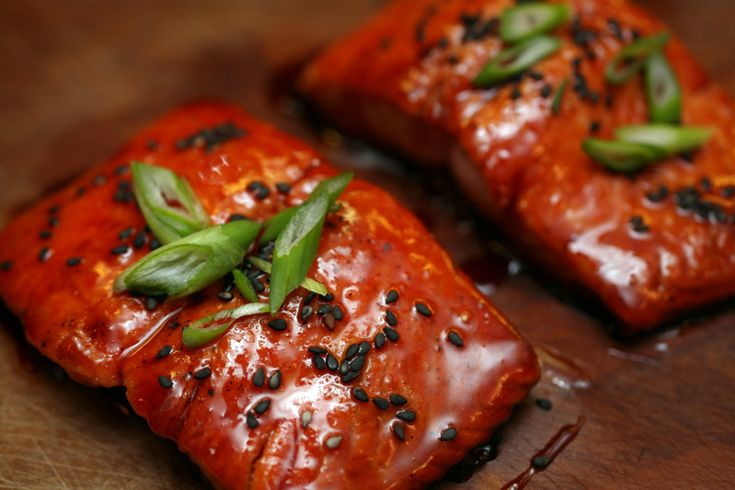 blood orange soy glazed salmon | yummmm | Pinterest