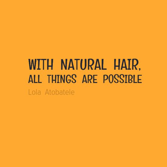 quotes about natural hair - photo #7