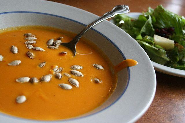 butternut squash soup | Soup's On! | Pinterest