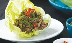 donna hay thai chicken san choy bau