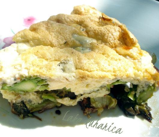 Frittata with asparagus | Vegetable kingdom | Pinterest