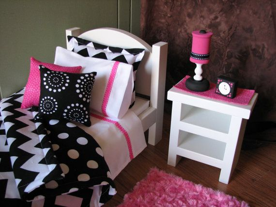 American Girl Sized 18 Doll Bedroom By Madigracedesigns