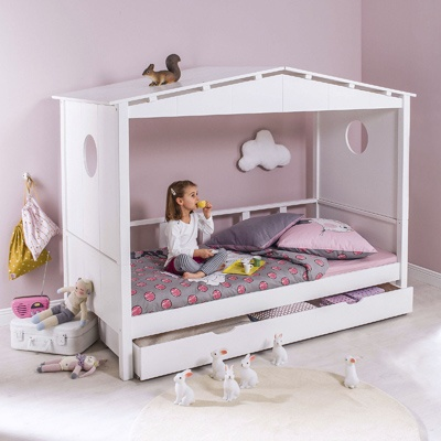 Lit cabane princesse 3 suisses for the home pinterest for Chambre bebe 3 suisses