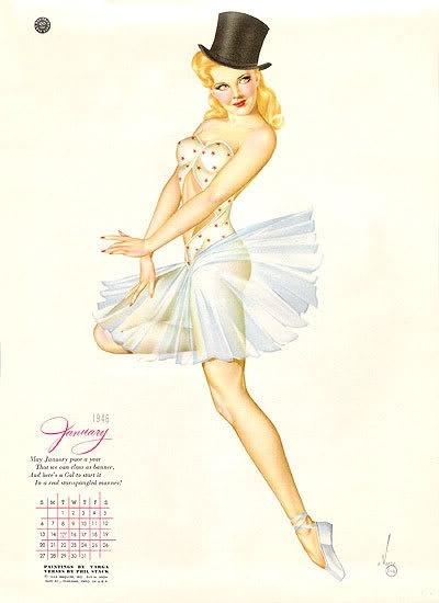 ballet pin ups