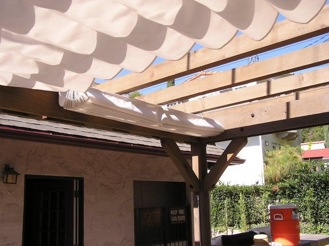 Retractable Patio Cover Garden And Yard Pinterest