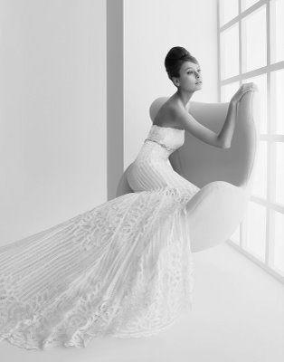 "This was my wedding dress, ""Laura"" by Rosa Clara"