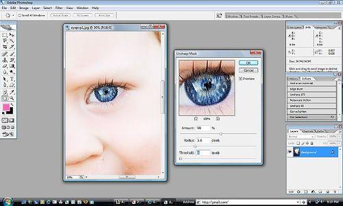 making eyes pop - photoshop tutorial