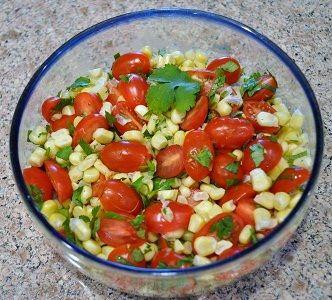Tomato Corn Salad | Eats | Pinterest