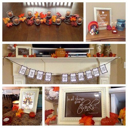 Thanksgiving home decor for the home pinterest
