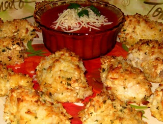 Melissas Southern Style Kitchen: Crispy Oven Fried Parmesan Chicken
