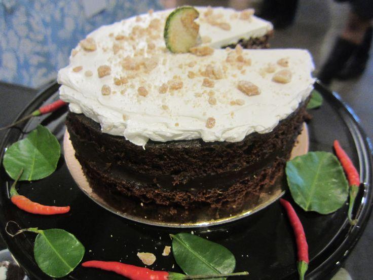 Chocolate Thai Green Curry Cake | Recipe