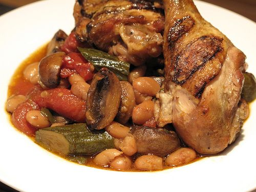 Braised Chicken with White Beans | FOOD!!!! | Pinterest