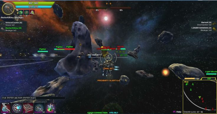 online space shooting games