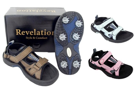 $40 for One Pair of Revelation Golf Sandals