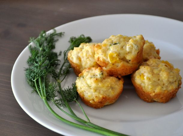... both corn meal and whole corn kernels, plus dill for an herbal kick
