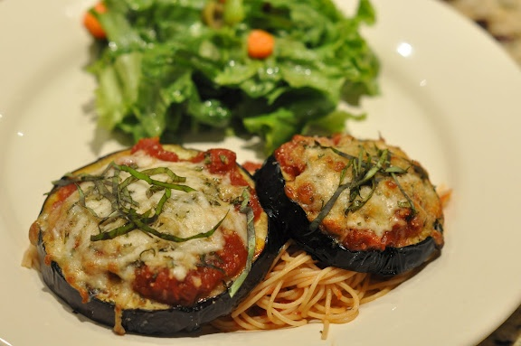 Grilled Eggplant Parmesan | Y is for Yummy | Pinterest