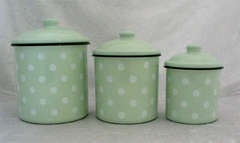 mint green kitchen canisters jadeite mint green kitchen
