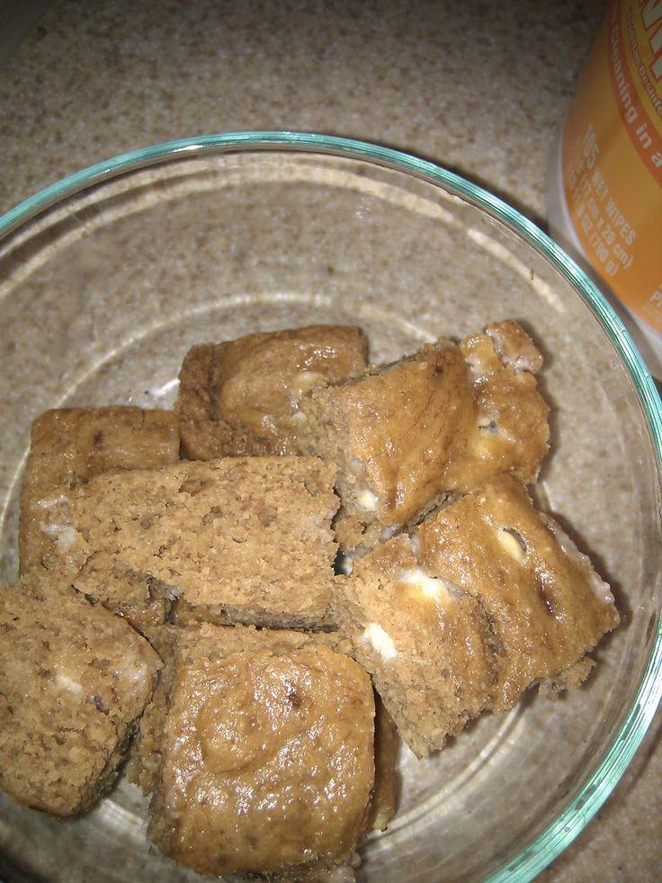 : Sweet potato mac n cheese & pb banana white chocolate chip blondies ...