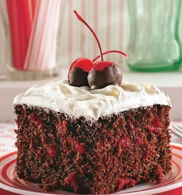 Chocolate Cherry Cola Cake