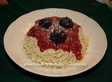 Spaghetti Cake | cakes | Pinterest